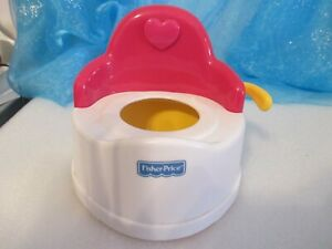 SMALL DOLL POTTY CHAIR FISHER PRICE/ Mattel Doll Furniture