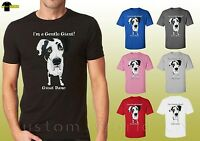 Great Dane  Shirts Dog Love Great Dane Graphic Tee Unisex T-Shirt (19652hd4)