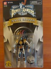 1995 Mighty Morphin Power Rangers The Movie White Ranger Movie Edition SEALED