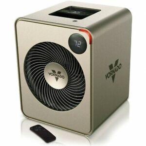 Vornado VMH350 Vortex Air Circulating Whole Room Metal Heater with Remote 720650