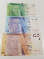 Gibraltar £5, £10 & £20 Notes