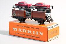 315/4G (4613) Autotransportwagen von  MÄRKLIN von 1956