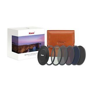Kase Wolverine 82mm Pro ND Stack Magnetic Glass Filter Kit CPL ND8 ND64 ND1000