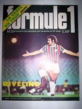 MAG FORMULE 1 N°25 1976 / RIVELINO FLUMINENSE