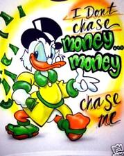 Airbrushed Money Chase Me t-shirt