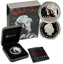 2012 $1 Marilyn Monroe 1oz .999 Proof Silver Coin Perth Mint in Original Box COA