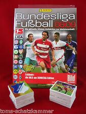 Panini Bundesliga 2008/2009 Satz komplett + Album = alle Sticker Leeralbum 08/09