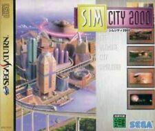 SEGA Saturn game - SimCity 2000 JAPAN CIB, boxed very good condition