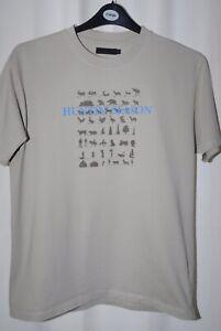 New Look Mens Taupe Huntin' Season Short Sleeve T-shirt Size L