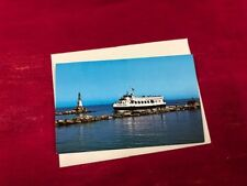 Vintage postcard Island Queen Ferry Falmouth, Mass photo by Dewolf Thompson