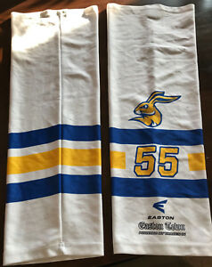Ice Rabbits Lorsch Ice Hockey Stirrup Socks No. 55 Gameworn Used