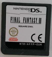 FINAL Fantasy III (Nintendo DS solo cartuccia)