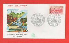 FDC 1971 - Kongreß Philatelistisches Grenoble (1445)
