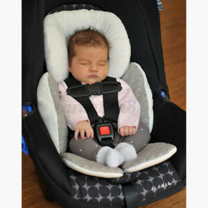 Newborn Baby Car Seat Stroller Cushion Pad Liner Head Support Body Pillow Ma