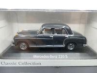 Minichamps Dealer Edition 1954 Mercedes Benz 230 S W180 Light Grey 1:43 NEW