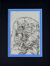 BATMAN The Dark Knight SKETCH PRINT PROFESSIONALLY MATTED Frank Miller