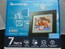 "pandigital digital  photo frame 7"" NEW"