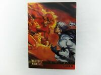 1995 DC Versus Marvel base trading card #76 Killer Croc//HULK Chris Renaud
