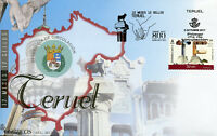 Spain 2017 FDC Teruel 12 Months 12 Stamps 1v S/A Set Cover Tourism