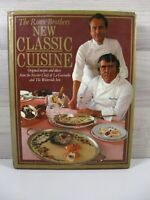 The Roux Brothers New Classic Cuisine Hardback 1983  Signed by Both Chefs