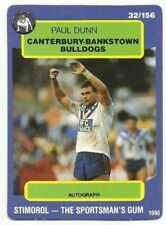 Canterbury Bulldogs Scanlens Single NRL & Rugby League Trading Cards