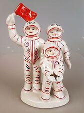 Russische Porzellanfigur Porzellan UdSSR CCCP Astronavt Kosmos