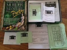 MURDER IN THE BATHS MYSTERY DINNER PARTY Host Your Own Evening Complete