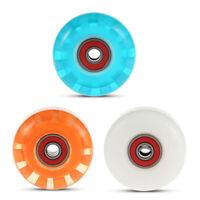 4PCS 55*36mm 78A Soft High Elastic PU Skateboard Wheels for Ollie Punk Jumping B