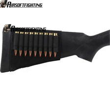Tactical 9 Round Rifle Ammo Cartridge Stock Buttstock Holder Fit .243 .410 .270
