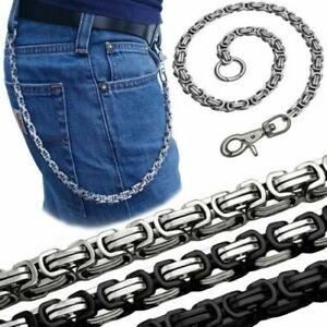 Porte-Clés En Inox Chaîne Pantalon Biker Porte-Monnaie Portefeuille