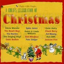 Child's Celebration Christmas Music CD Beach Boys,Jackson 5, Pete Seeger ,Roches