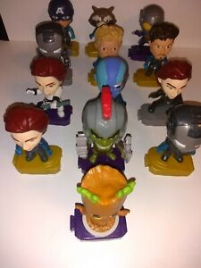 Marvel avengers mcdonald's toy figure lot