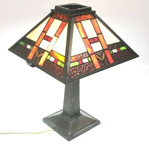 Dale Tiffany Mission Wall Plug In Traditional Table Lamp