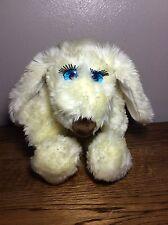 Vintage 80's Le Mutt Plush Puppy Dog Francesca Hoerlein Fifi White Cream Girl