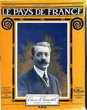 Portrait Étienne Clémentel Ministre du Commerce ministère Ribot Paris 1916 WWI