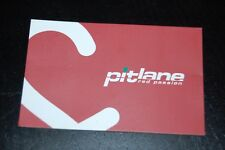 Carte de visite PitLane Maranello Red Passion - Ferrari