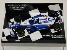 MINICHAMPS. WILLIAMS  FW 17, RENAULT. DAVID COULTHARD . 1/43