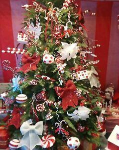 Gisela Graham Christmas Bake Table Cake Cupcake Christmas Tree Decoration