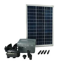 SolarMax 1000 Fuente de Bomba solar-teichpumpen-set con batería