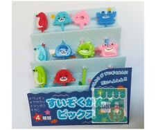 10 PCS Sea Ocean Friends Bento Tools Accessories Food Picks Set