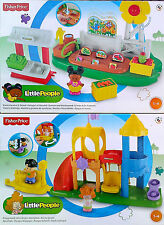 Fisher PRICE-Little People-Farm Garden & Stand + GIOCO PLAYSET