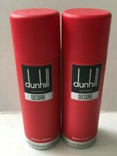 Dunhill London Desire Men's 2 x 6.6oz Body Spray 2 Count Brand New With Cap
