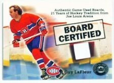 "GUY LAFLEUR ""BOARD CERTIFIED CARD"" FLEER GREATS OF THE GAME"