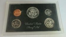 More details for united states proof 5 coin set 1969 san francisco mint kennedy half dollar