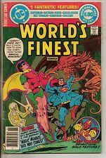 DC Comics Worlds Finest #265 Nov 1980 Superman Batman Very Rare Dollar Comic F+