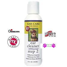 Gimborn R-7 Step 2 EAR CARE CLEANER DOG CAT PET Puppy 4 oz Reduce Odor Wax
