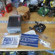 New listing Abu Garcia Ambassadeur 521 Xlt Plus fishing reel & Box Xlt Plus (Lot#11595)