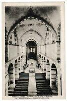 Ansichtskarte Königslutter - Inneres der Stiftskirche mit Grab Kaiser Lothars sw