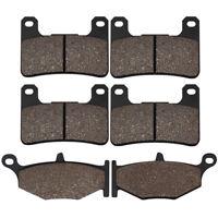 F+R Brake Pads For SUZUKI GSXR 600/750 06-10 GSXR 1000 07-10 GSX 1300 Hayabusa