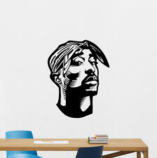 2Pac Tupac Shakur Wall Decal Hip Hop Rap Music Vinyl Sticker Decor Art 146hor